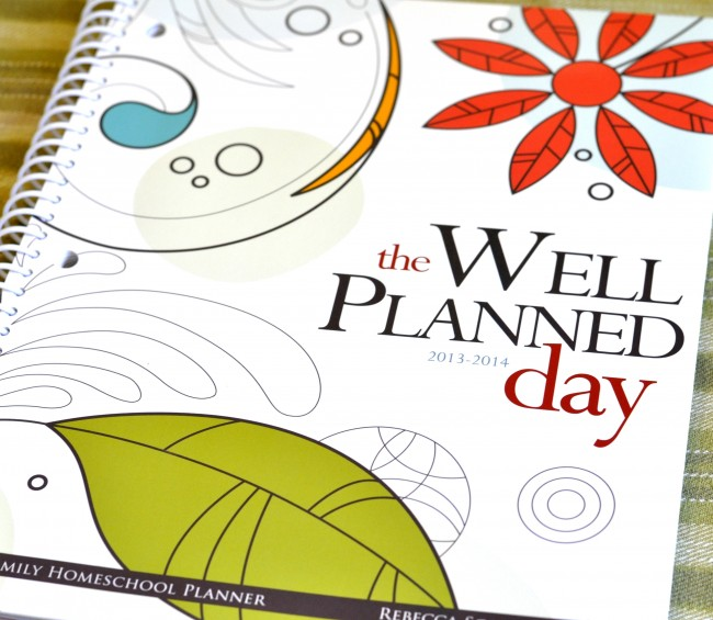 The Well-Planned Day homeschool planner -- love it!