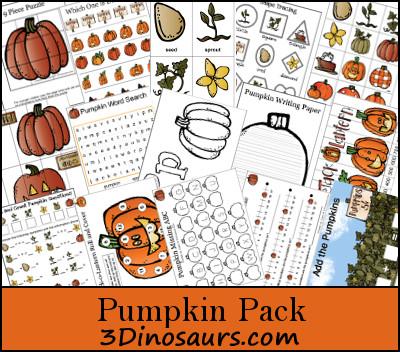 10+ Halloween Printable Packs for Pre-K and Elementary Kids