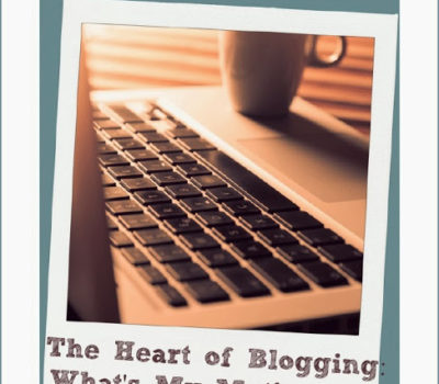 The Post About Blogging Where I Bare a Little of My Soul…