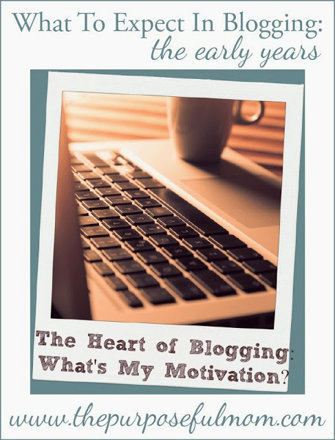 What's My Motivation in Blogging