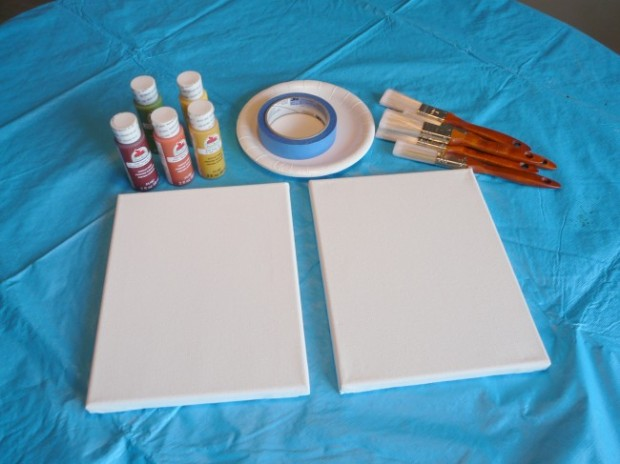 relief painting project