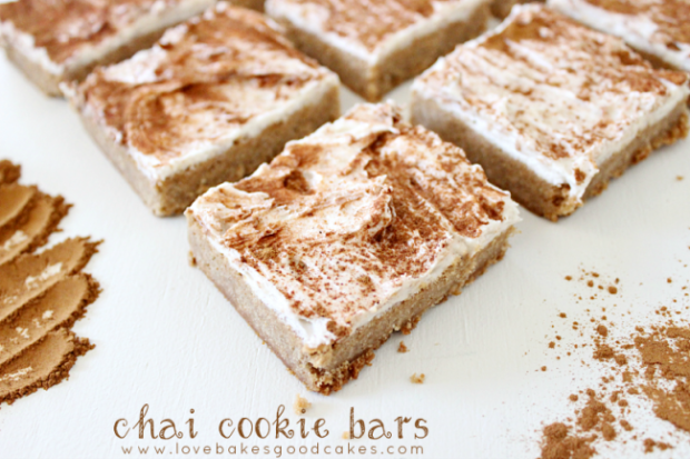 Chai Cookie Bars
