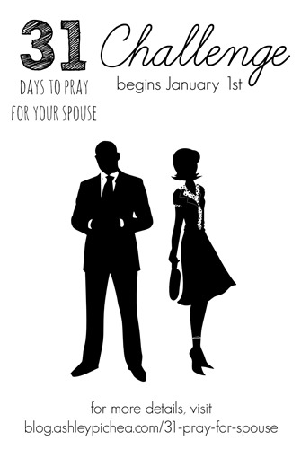31 Days to Pray for Your Spouse