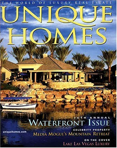 Today Only, Subscribe To Unique Homes Magazine For Only $8.99 Per Year (78%  Off)! You Can Order Up To 3 Years At This Price.