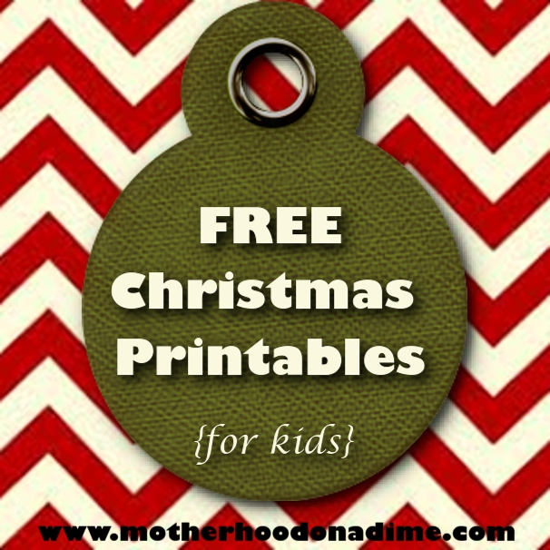 10 free christmas printable packets for kids 200 pages kids