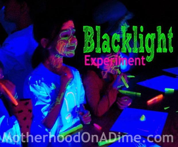 Blacklight Experiment for Kids
