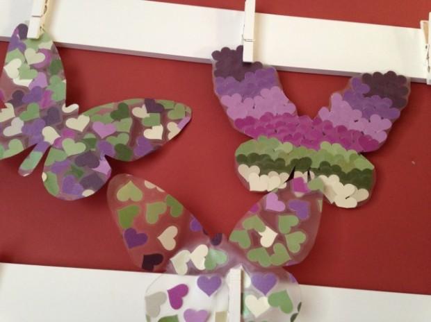 Contact Paper Butterflies