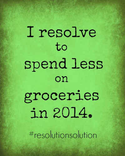 I resolve to spend less