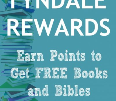 Tyndale Rewards Program:  Earn Points & Get Books + 5 Book Giveaway!!