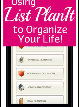Organize with ListPlanIt.com + Giveaway!