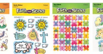 Monthly Sponsor:  Faith That Sticks from Tyndale House Publishers