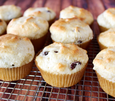 Irish Soda Muffins #muffins #StPatricksDay