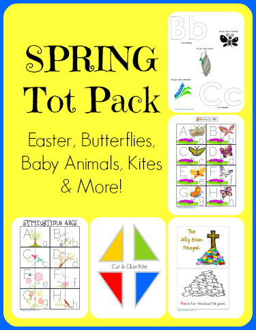 Spring-Time-Tot-Pack...Easter-Butterflies-Kites-and-Baby-Animals