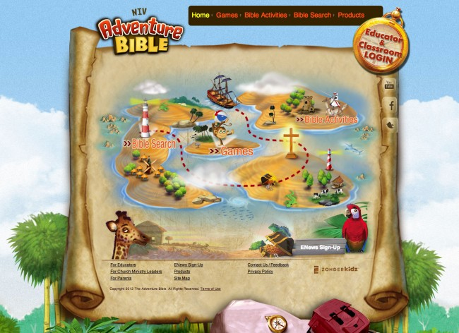 The Bible Kid Games