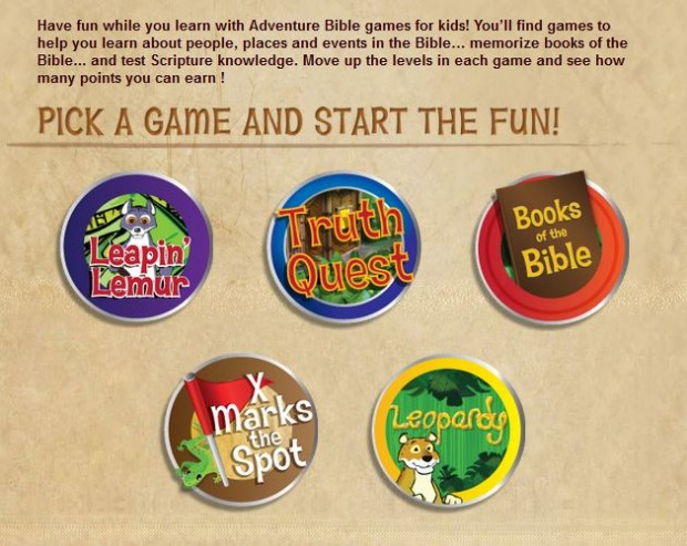 Bible Games for Kids
