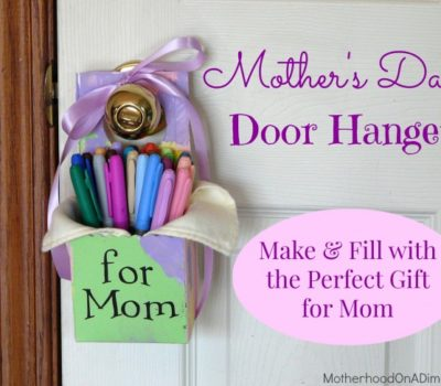 Show the Love:  Mother's Day (or May Day!) Door Hanger