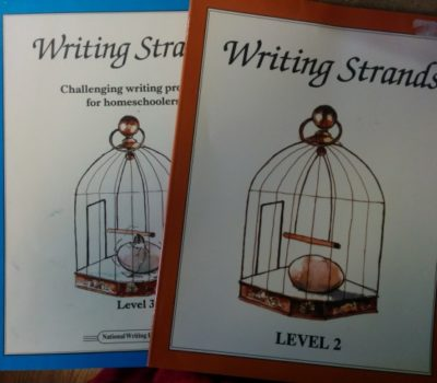 Curriculum Clean Out:  Draw Write Now Book 1 & Writing Strands (Level 2 & 3)