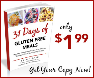 31 Days of Gluten Free Meals by Erin Chase - Buy Now