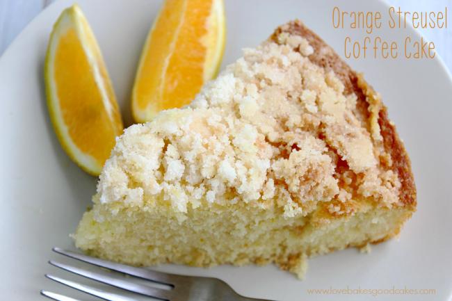 Orange Streusel Coffee Cake
