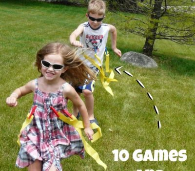 DIY Clothespin Flags:  10 Games & Activities