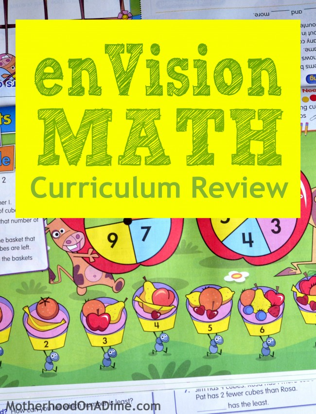 enVision Homeschool Math Curriculum Review