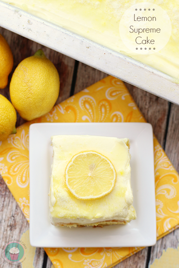Lemon Supreme Cake
