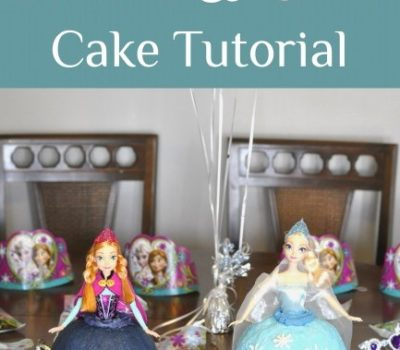 Frozen Party:  Anna Cake & Elsa Cake Tutorial