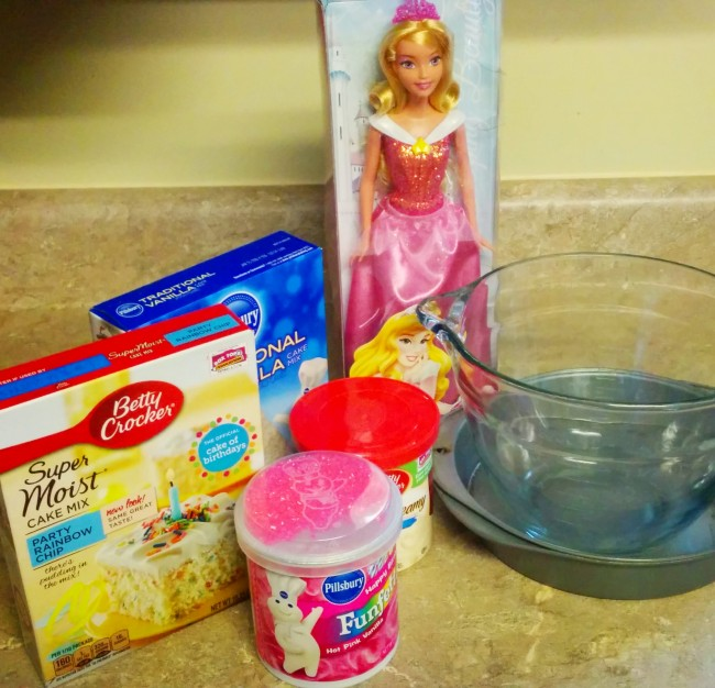 Sleeping Beauty Cake Ingredients