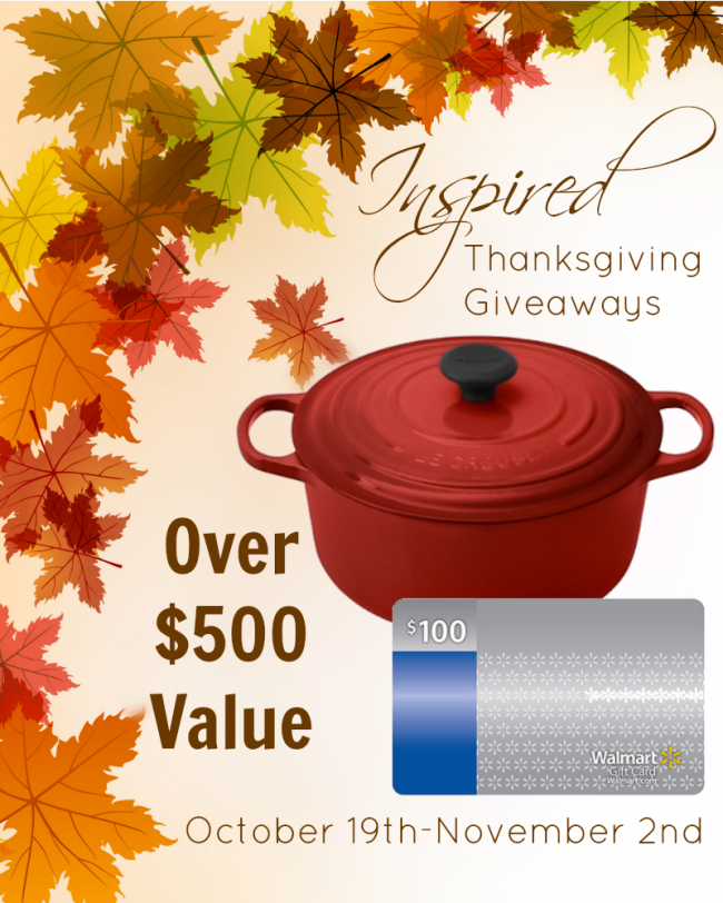 Huge Giveaway! Le Creuset Enameled Cast Iron French Oven