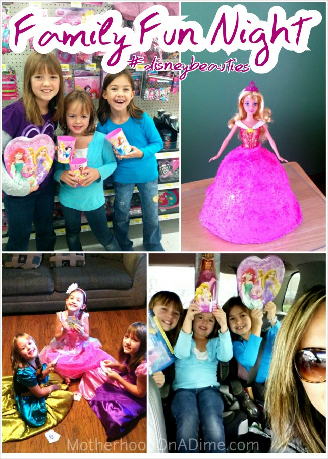Family Fun Night idea - make a Sleeping Beauty Cake, watch Sleeping Beauty on DVD, and decorate a room with a princess makeover! #disneybeauties #shop