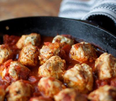 Paleo Turkey & Bacon Meatballs