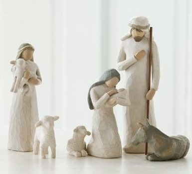 Up to 55% Off Willow Tree Nativity & Various Ornaments from Hallmark, Precious Moments, and More