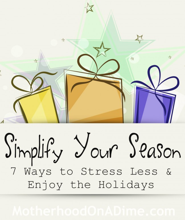 Simplify Your Season