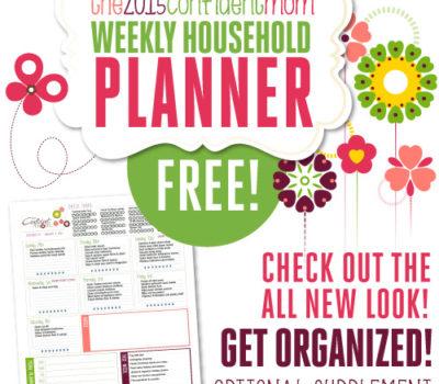 FREE 2015 Life & Home Management Planner Calendar