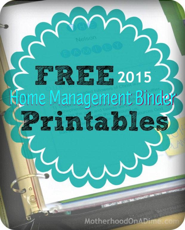Free-Home-Management-Binder-Printables 2015