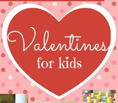 14 More Non-Candy Valentines for Kids