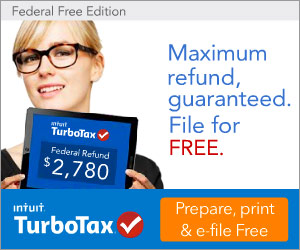 Turbo Tax:  FREE Edition