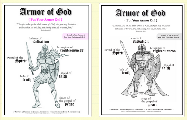 photo about Free Printable Pictures of the Armor of God titled Armor of God Cost-free Printable Pack Lady Boy - Small children
