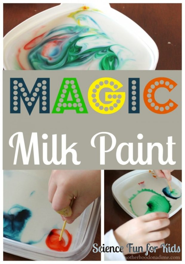 magic milk paint