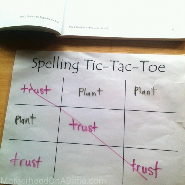 Free spelling printable