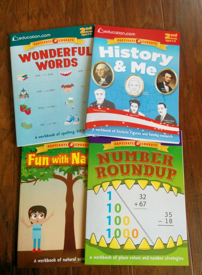 2nd grade activity books