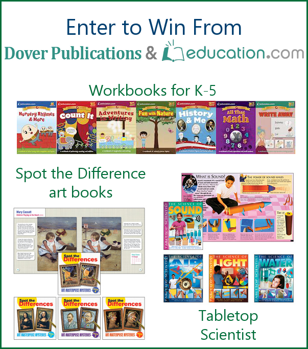 Dover Publications Giveaway