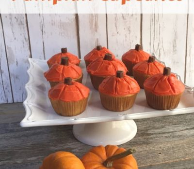 Fall Fun in the Kitchen with Pumpkin Cupcakes