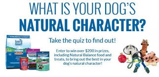 WIN $200 in Prizes from Natural Balance