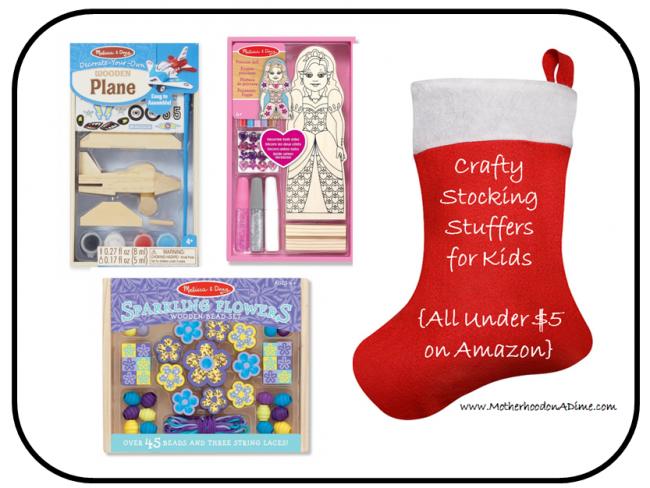 Amazon Stocking Stuffers Craft Ideas Under 5 Kids Activities