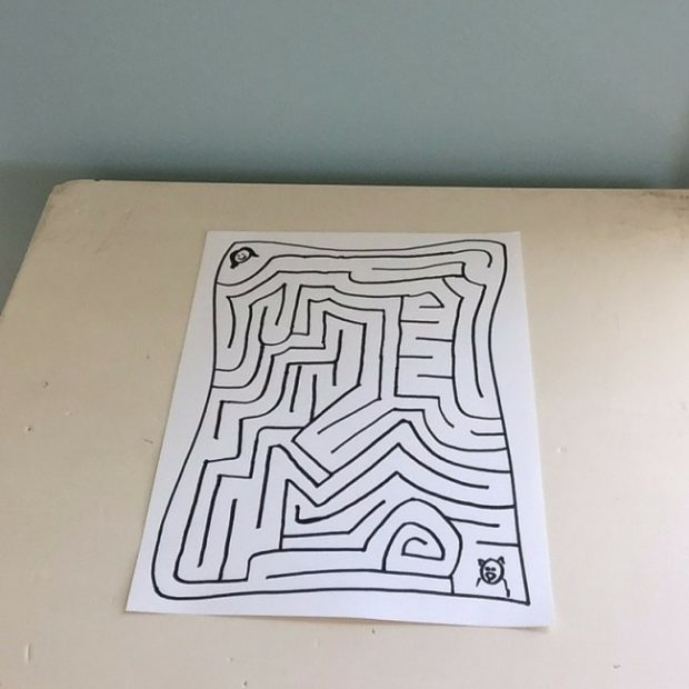 how to make a fun maze for your kids 12