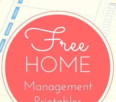 FREE 2018 Home Management Binder Printables + How to Make a Home Management Binder