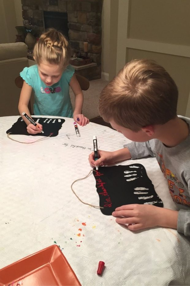 How to Make Winter Blessing Boards with your Children -4