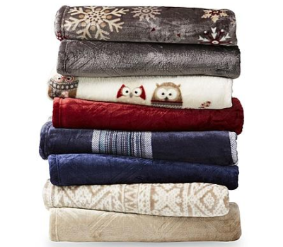 Cannon Velvet Plush Throw ONLY $5.99 at Sears