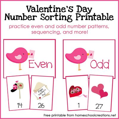 Even and Odd Valentine Sort